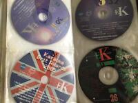Karaoke discs cdg £1 each