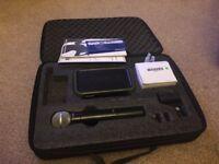 Shure px2 wireless microphone sm58 beta