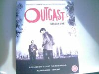 Outcast season one 3 disc set blue ray new unused