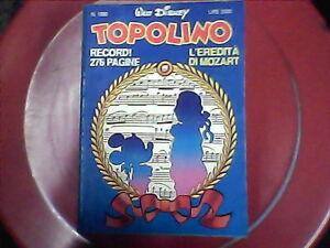 TOPOLINO - n.1880 - fumetto disney - Italia - L'oggetto può essere restituito - Italia