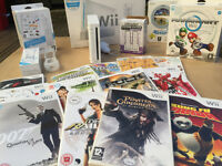 Used Nintendo Wii and games