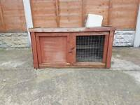 small wooden cage ideal for small rabbit or hamsters