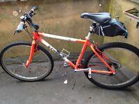 'Orange County Ltd Edition' Mountain Bike 24 Gears (43cm) Male + Car Mount, Helmet & Pump