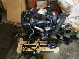Audi A2 1.4 tdi engine gearbox complete