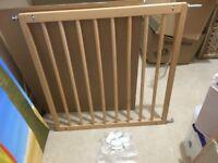 BabyDan No Trip Wooden Stair Gate - in excellent condition