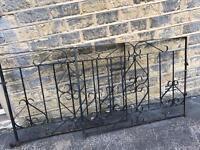 Iron double gates