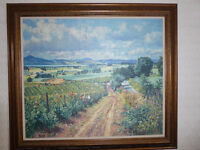 Signed James McIntosh Patrick Berry Picking Oil Print