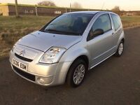 2006 CITREON C2 1.1 SX | YEARS MOT | 3DR HATCHBACK | ONLY 81k | PERFECT FIRST CAR OR CITY RUNNER