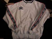 vintage umbro training sweatshirt