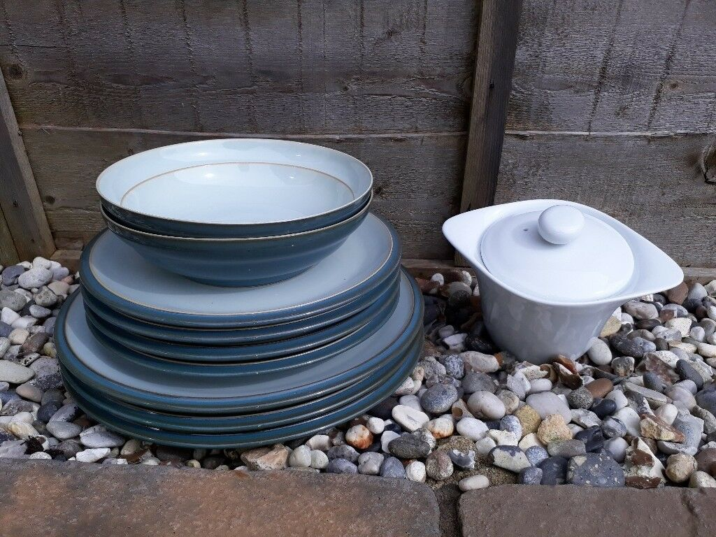 DENBY Everyday Teal dinner pieces & James Martin dish | in Sudbury ...