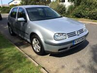 VW golf 1.6 petrol 1 year mot great conditions