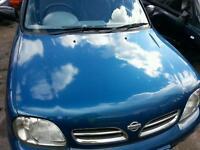 Nissan micra 5 door 1999 auto breaking