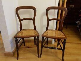Victorian Mahogany Chairs
