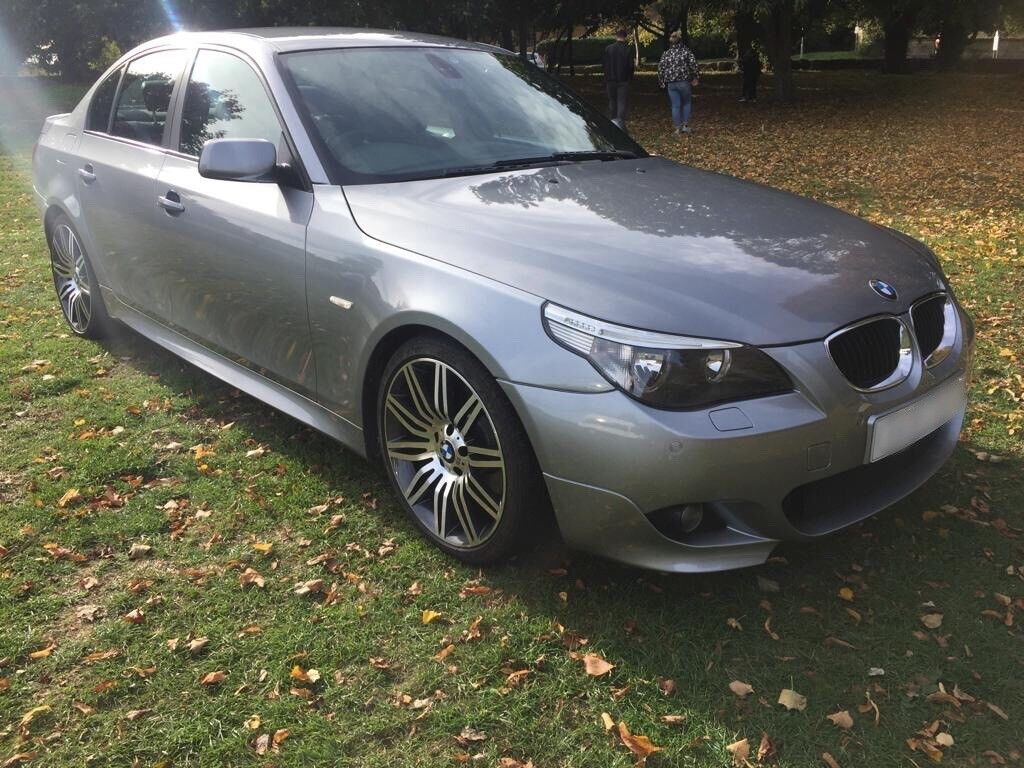 bmw e60 530d m sport 2005 grey in corby northamptonshire gumtree. Black Bedroom Furniture Sets. Home Design Ideas