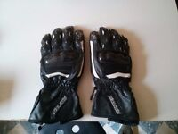 Men's RAYVEN Leather RV1 Motorcycle Gloves Size: M