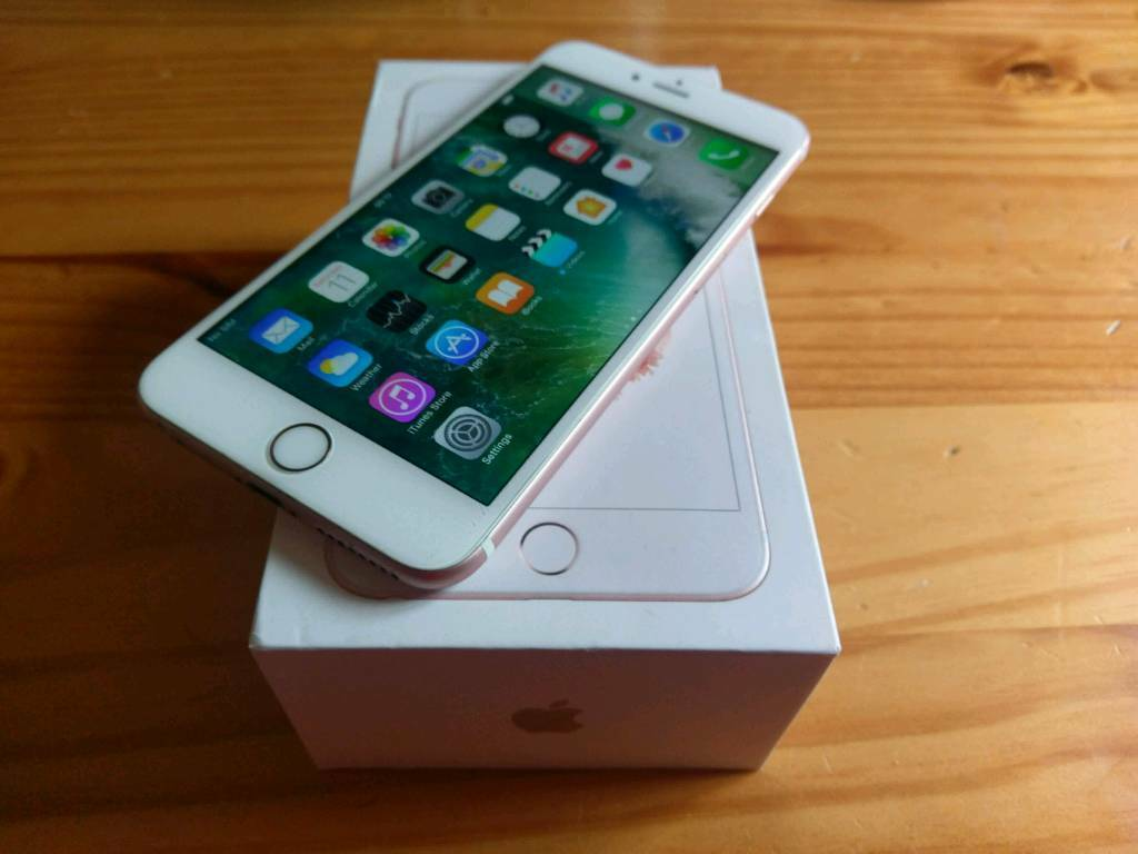 apple iphone 6 s plus factory unlocked rose gold excellent. Black Bedroom Furniture Sets. Home Design Ideas