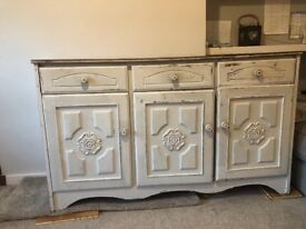 Sideboard - retro, up-cycled, shabby chic