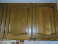 Free Kitchen Units Solid Oak Doors