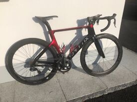 Speed X Di2 Full Carbon Aero Road Bike with 50mm full Carbon wheels