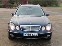 2005 Mercedes Benz E class estate automatic 7 seater