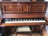 Fully Tuned Piano, stool and music books