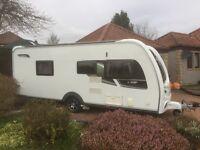 Coachman VIP 565/4 Caravan August 2012