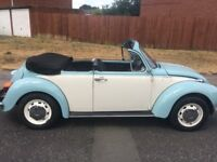VW BEETLE CONVERTIBLE LONG MOT