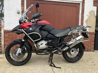 BMW R1200GS Adventure 2012 TU Twin Cam Luggage