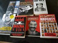 7 books for sale