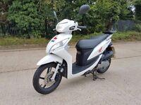 2012 Honda Vision 50cc Scooter White