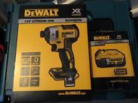 Dewalt 18v impact driver brushless dcf887 new 5ah battery new !!!