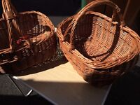 """15"""" Wicker Shopping Basket- 2 available"""