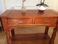 Solid Sideboard/Console Table