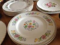 Bone china cups & plates