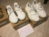 Yeezy boost 350 adidas cream white 10 uk 8.5 yk