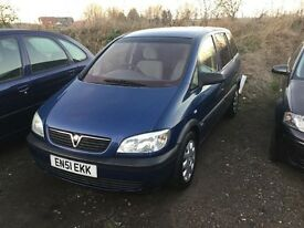 7 seater Vauxhall zafira good driving family car in nice condition in and out any trial welcome