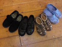 Boy's shoes, 2x Clarks