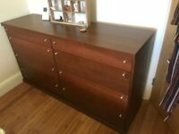 FREE Ikea wooden sideboard with drawers