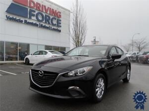 2016 Mazda3 GS 5 Passenger w/Bluetooth, Backup Camera, 2.0L Gas