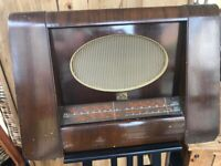 His Masters Voice Vintage Radio Antique