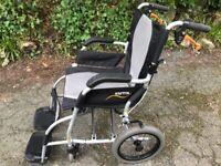 Wheelchair, lightweight, 'Karma' - Ergo Lite Series