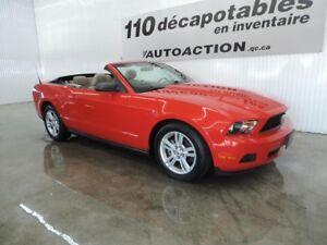 2010 Ford Mustang V6 DÉCAPOTABLE