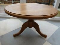 Round Pine Coffee Table ****Reserved****