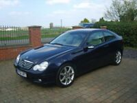 Mercedes C230K Sports Coupe Automatic