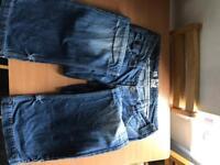 River island boyfriend jeans size 12