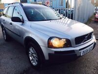 VOLVO XC90 2.4 DIESEL AUTOMATIC D5 S GT 7 SEATER LEATHER 2004