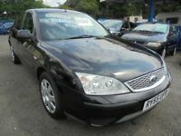 FORD MONDEO LX 5 DOOR HATCHBACK, 1.8 Petrol, 2006, Black, Manual