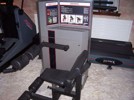 LIFE FITNESS EQUIPMENT, 4 ITEMS, TREADMILL, CROSS TRAINER, ABDOMINAL AND STEP MACHINE, IMMACULATE
