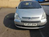 CITROEN PICASSO, 1.6HDI ,1 YEAR MOT ,SERVICE HISTROY ,30 A YEAR FOR TAX , BIG BOOT £895 ONO