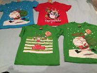 Kids Christmas t-shirts
